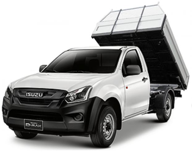 ISUZU lastbiler - ISUZU D-MAX kan opbygges til ethvert behov.